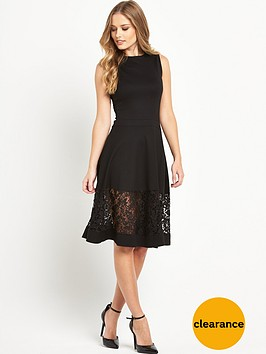 french-connection-lace-panel-dress