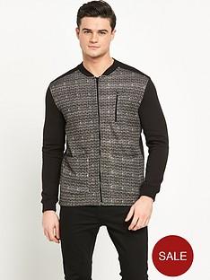 river-island-herringbone-bomber-jacket