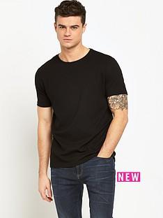 river-island-textured-mens-t-shirt