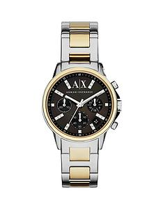 armani-exchange-armani-exchange-black-dial-and-two-tone-bracelet-strap-ladies-watch