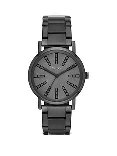 dkny-dkny-soho-grey-with-glitz-batoned-dial-black-tone-bracelet-ladies-watch