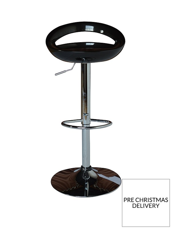 Phenomenal Avanti Bar Stool Black And Chrome Ocoug Best Dining Table And Chair Ideas Images Ocougorg