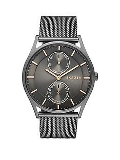 skagen-holst-multifunction-grey-dial-gunmetal-mens-watch