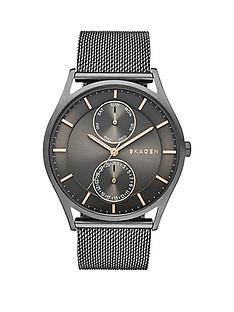 skagen-holst-multifunction-grey-dial-gunmetal-mens-watch