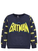 Boys Batman Logo Sweatshirt