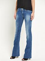 Teena Mid Rise Flare Jean