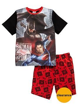 batman-vs-superman-boys-shorty-pyjamas