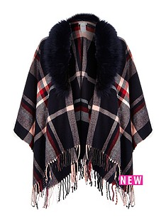 river-island-faux-fur-trim-cape