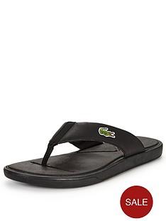 lacoste-lacoste-l30-toe-post-sandal-black