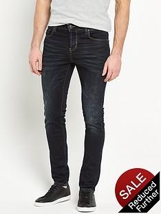 883-police-883-police-laker-rip-and-repair-slim-jeans