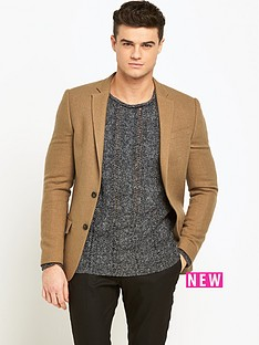 river-island-wool-blend-slim-blazer