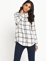 Window Pane Check Shirt
