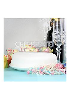 personalised-celebrate-acrylic-cake-topper
