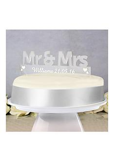 personalised-mr-amp-mrs-acrylic-cake-topper