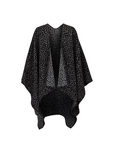wallis-animal-print-cape