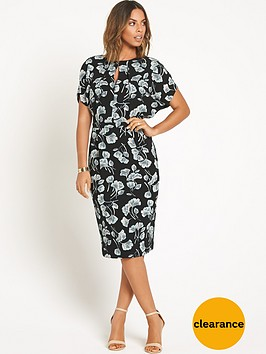 rochelle-humes-printed-pencil-dress