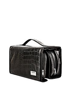 nyx-makeup-bags-black-croc-deluxe-travel-bag