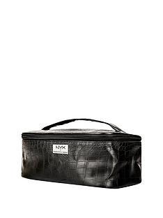 nyx-makeup-bags-black-croc-zipper-case