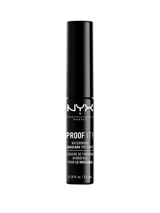 59440212f2c NYX PROFESSIONAL MAKEUP Proof It! - Waterproof Mascara Top Coat ...