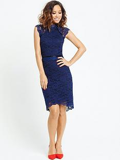 myleene-klass-lace-detail-dress