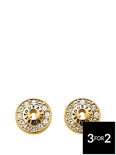 guess-guess-gold-plated-padlock-design-earring