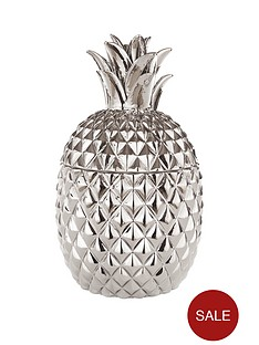 fearne-cotton-pineapple-pot-in-silver