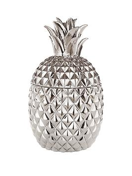 fearne-cotton-pineapple-pot-in-silver