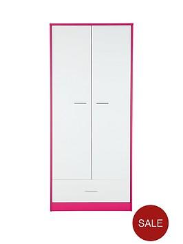 orleans-2-door-1-drawer-kids-wardrobenbsp