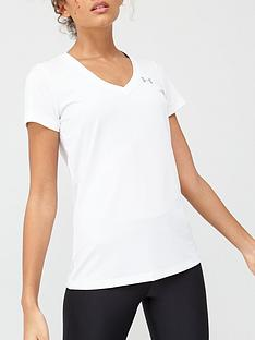 under-armour-ua-tech-v-neck-tee-white