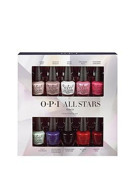 opi-starlight-collection-all-stars-10-piece-mini-packnbspamp-free-clear-top-coat-offer