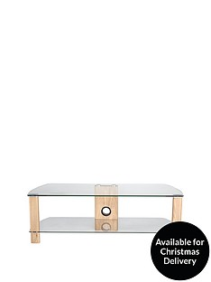 Alphason Century 1200 TV Stand - fits up to 55 inch TV - Oak Effect