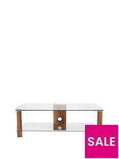 Alphason Century 1200 TV Stand - fits up to 55 inch TV - Walnut Effect