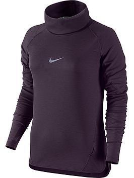 Nike Aeroreact Cowl Reflective Top