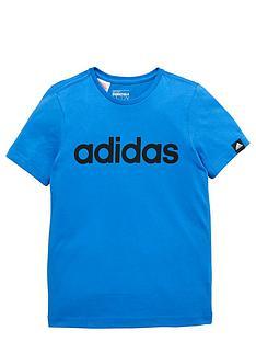 adidas-adidas-youth-boys-essential-linear-tee