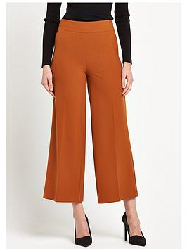 V by Very Wide Leg Cropped Trousers