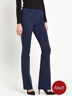 v-by-very-high-waist-button-detail-kickflare-trousers