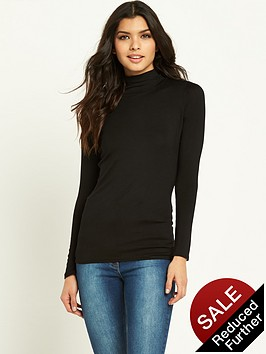 v-by-very-ls-high-neck-jersey-top
