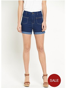 v-by-very-70snbsphigh-waisted-denim-shortnbsp