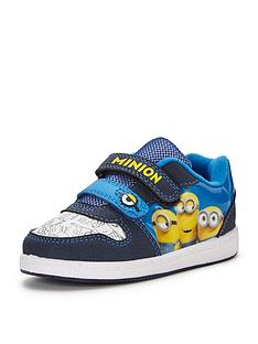 despicable-me-boys-minions-strap-trainers-with-removable-keyring