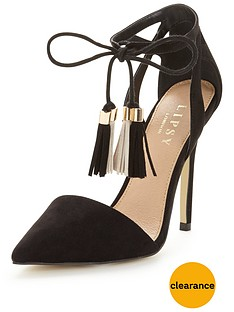 lipsy-laura-ankle-tie-court-shoe