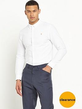 farah-farah-vintage-brewer-slim-long-sleeved-oxford-shirt