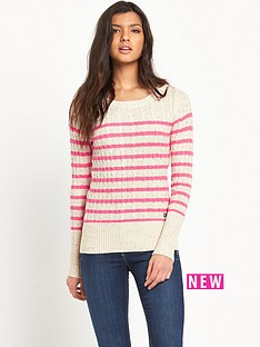 superdry-croyde-cable-stripe-crew-sweater