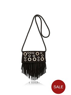 river-island-girls-eyelet-fringed-crossbody-bag