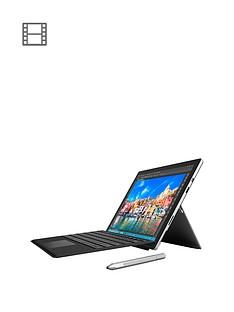 microsoft-surface-pro-4-intelreg-coretrade-i5-processor-8gb-ram-256gb-storage-wi-fi-123-including-black-type-cover-with-optional-microsoft-office-365-personal
