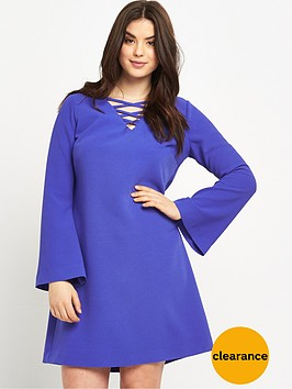 so-fabulous-crepe-cross-front-tunic-dress