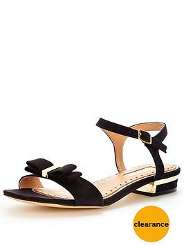 miss-kg-rubynbsplow-heel-bow-trim-sandalnbsp