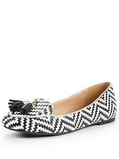 miss-kg-neptune-print-loafer-shoe