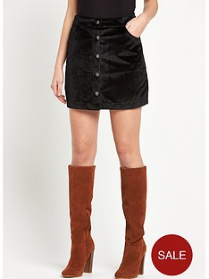 vero-moda-mabel-velvet-short-skirt