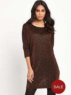 vero-moda-vero-moda-sianna-lurex-sleeve-dress