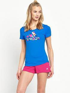 adidas-foil-logo-t-shirt
